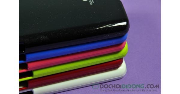 Ốp lưng LG GX F310 Mercury dẻo kim tuyến