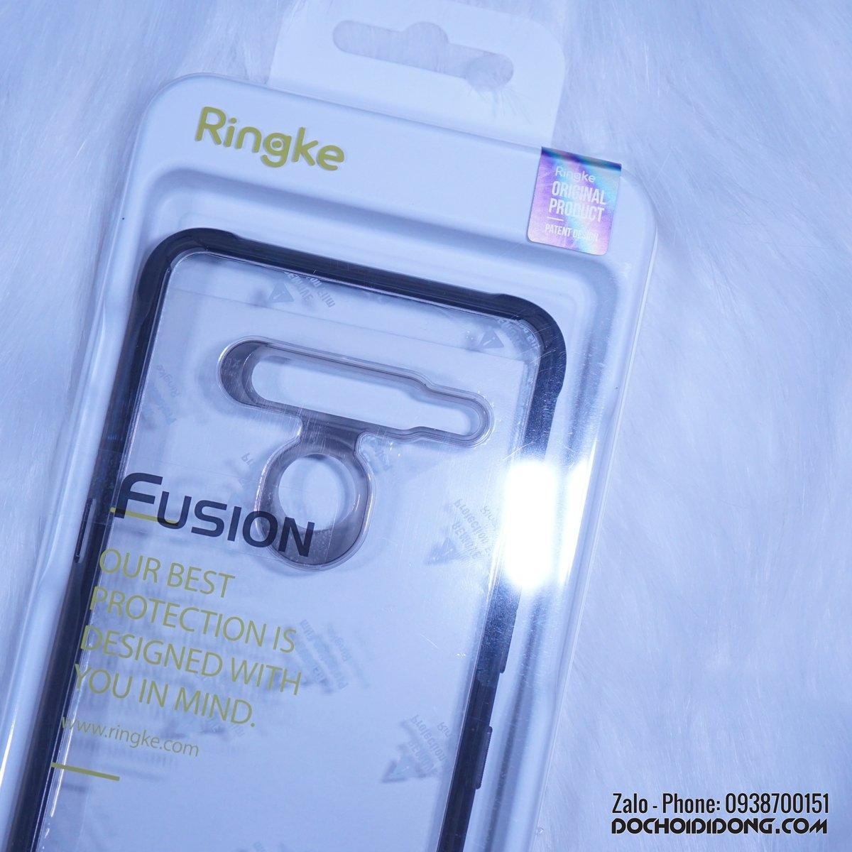 Ốp lưng LG V50 Ringke Fusion siêu chống sốc