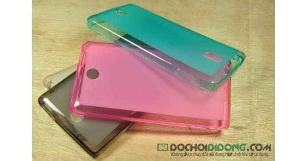 Ốp lưng Oppo R823T dẻo trong