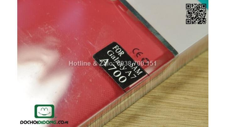 Ốp lưng Samsung Galaxy A7 Nillkin vân sần
