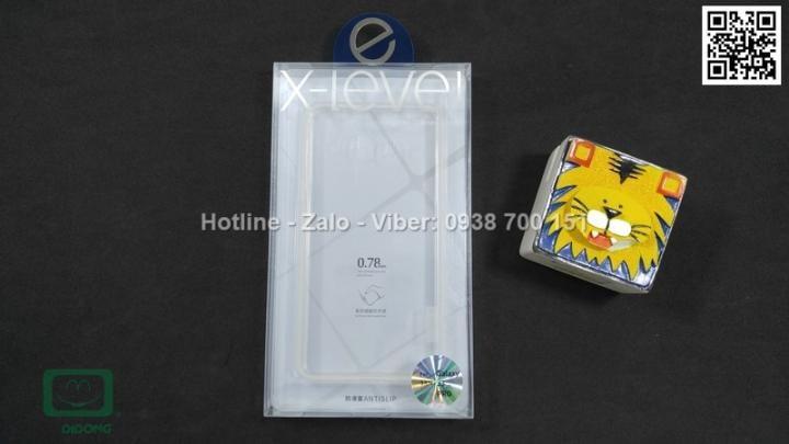 Ốp lưng Samsung Galaxy J3 Pro X-Level dẻo trong siêu mỏng