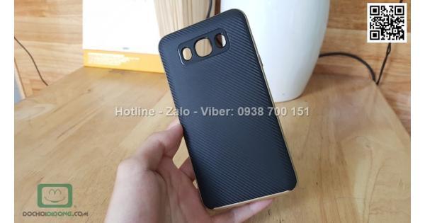 Ốp lưng Samsung Galaxy J7 2016 Likgus chống sốc vân carbon