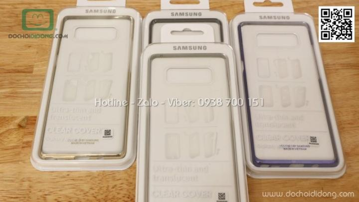 Ốp lưng Samsung Note 8 Clear Cover