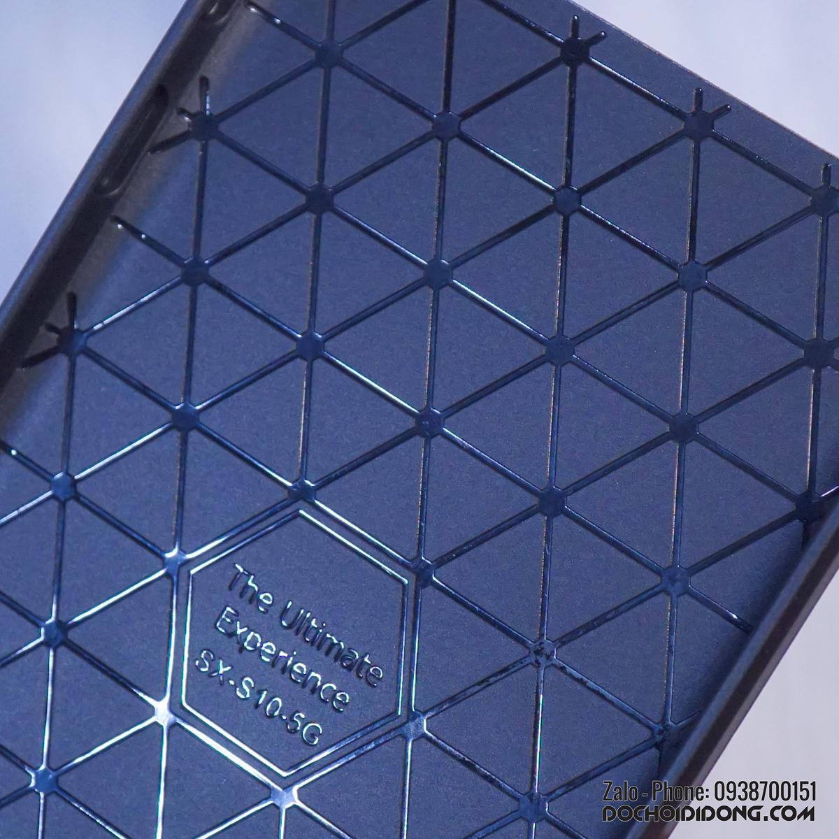 Ốp Lưng Samsung S10 5G Likgus Chống Sốc Vân Kim Loại