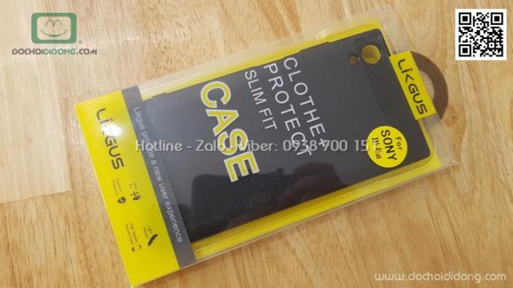 Ốp lưng Sony XA1 Plus Likgus chống sốc vân kim loại