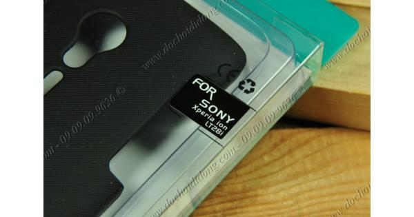Ốp lưng Sony Xperia Ion LT28i Nillkin vân sần