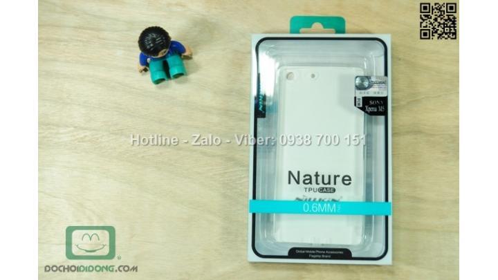 Ốp lưng Sony Xperia M5 Nillkin dẻo trong