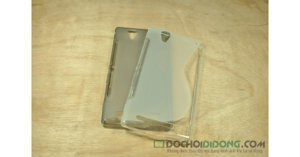 Ốp lưng Sony Xperia T2 dẻo trong chữ S