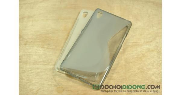 Ốp lưng Sony Xperia Z1 dẻo trong chữ S