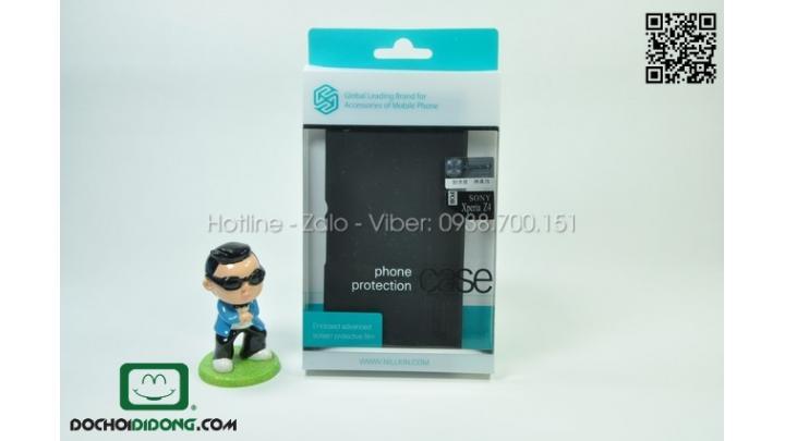 Ốp lưng Sony Xperia Z3+ - Z4 Nillkin vân sần