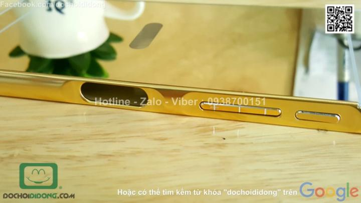 op-lung-sony-xperia-z5-premium-vien-nhom-lung-trang-guong