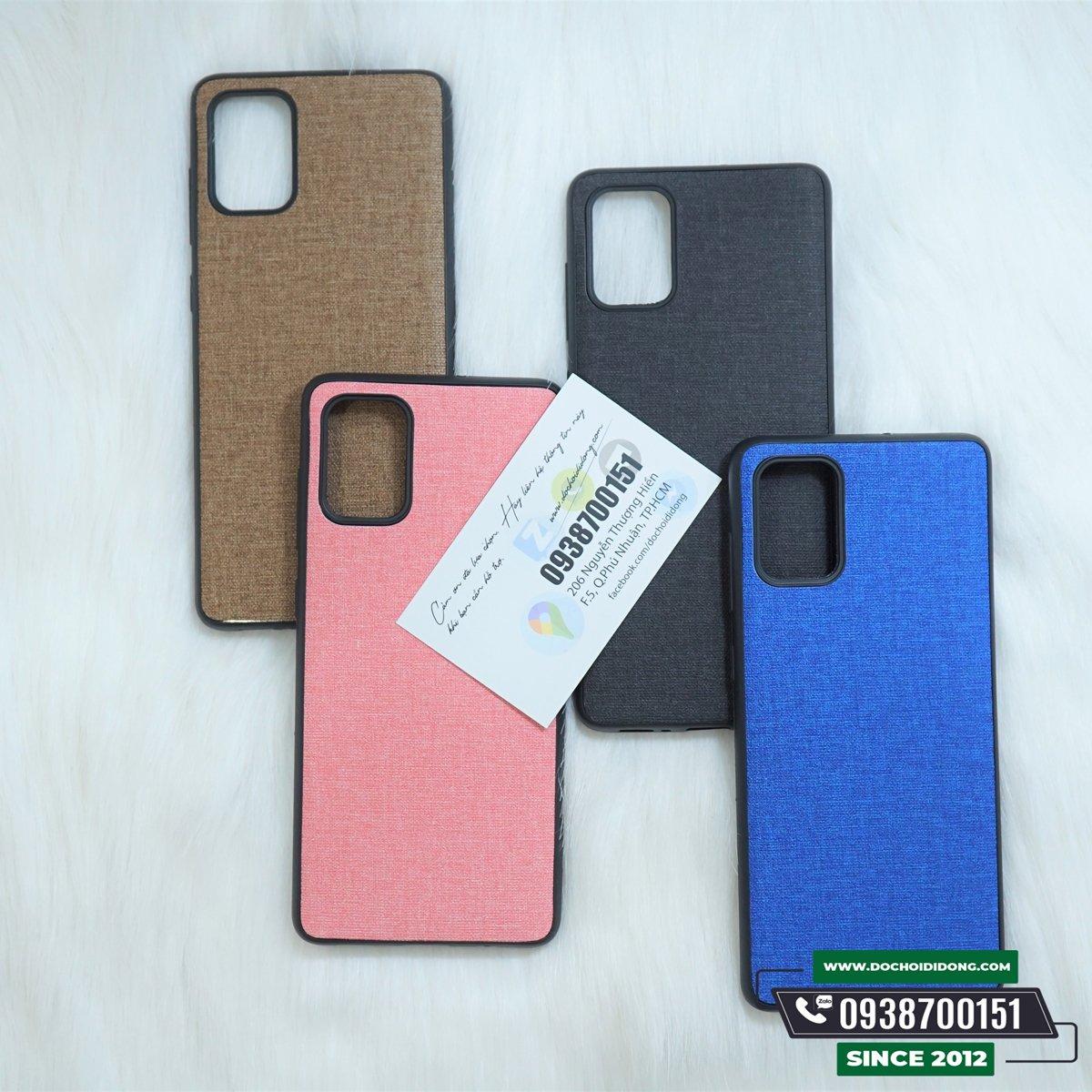Ốp Lưng Vải Samsung A71