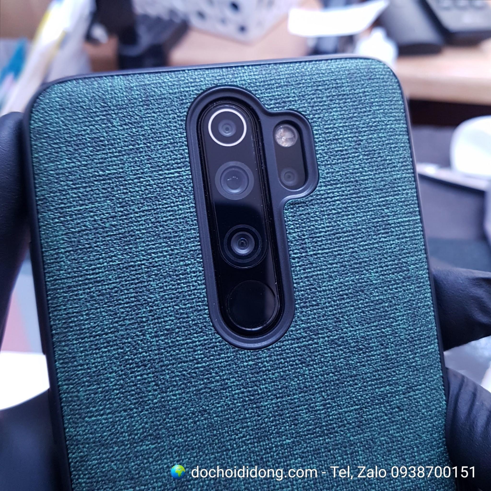Ốp Lưng Vải Xiaomi Redmi Note 8 Pro
