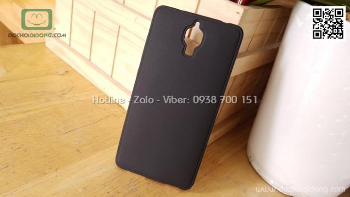Ốp lưng Xiaomi Mi 4 dẻo nhám đen siêu mỏng bảo vệ camera