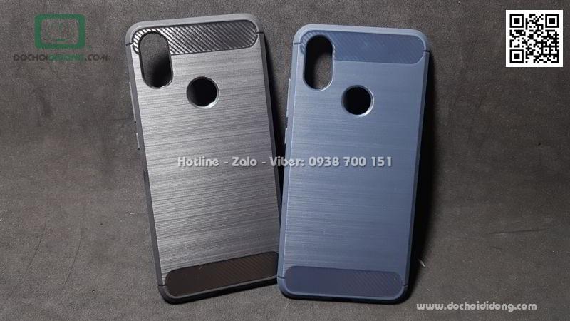 Ốp lưng Xiaomi Mi 6X (Mi A2) chống sốc vân kim loại