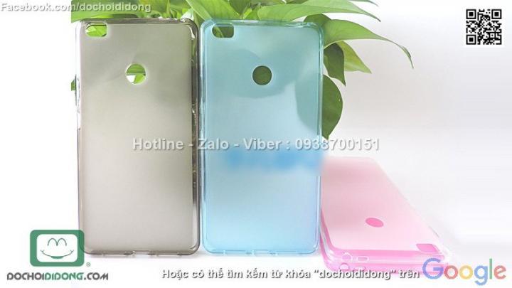 Ốp lưng Xiaomi Mi Max dẻo viền trong