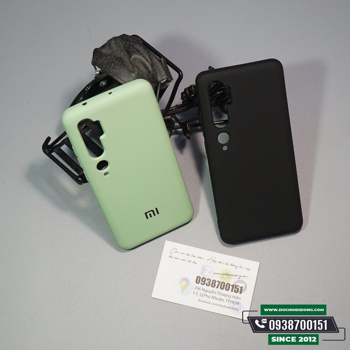 Ốp Lưng Xiaomi Mi Note 10 Pro Silicon Chống Bẩn Cao Cấp
