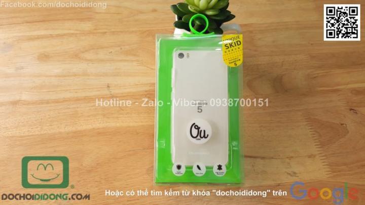 Ốp lưng Xiaomi Mi5 OU dẻo trong siêu mỏng