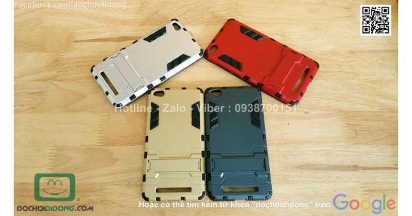 Ốp lưng Xiaomi Redmi 3 Iron Man chống sốc có chống lưng