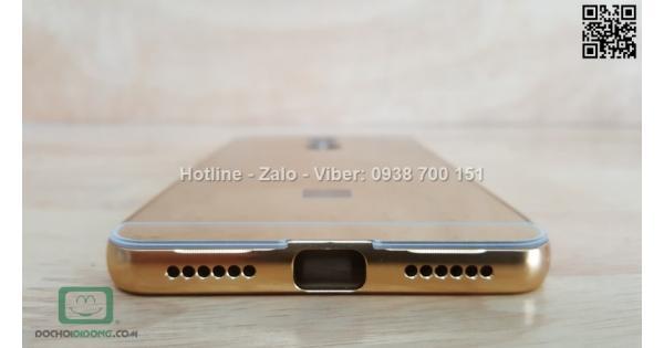 Ốp lưng Xiaomi Redmi Note 4 viền nhôm lưng tráng gương