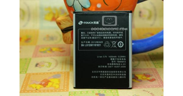 Pin Mobiistar Touch S01 1420mah