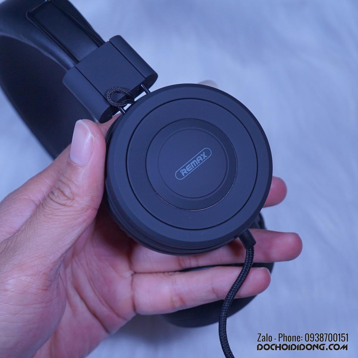 Tai nghe Remax RM-805 on-ear tích hợp micro