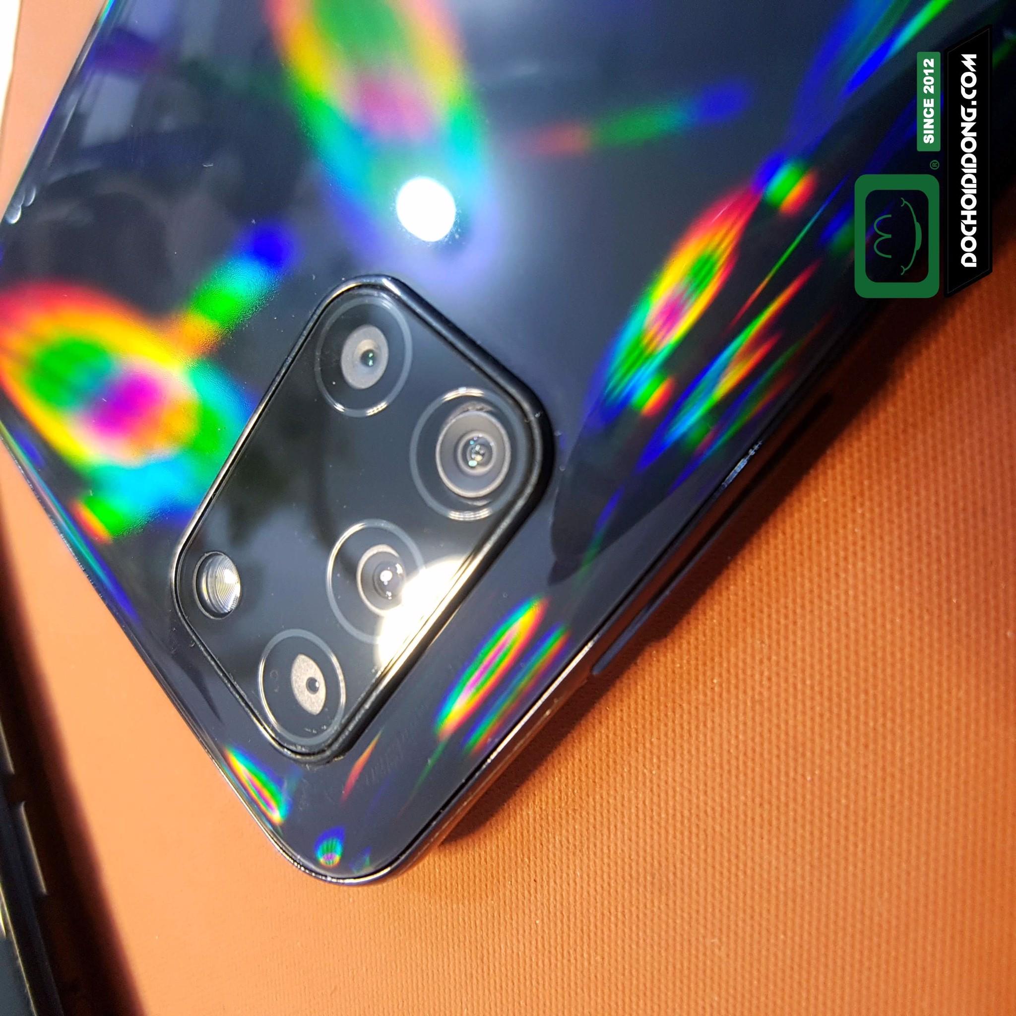 Miếng dán cường lực camera Samsung A31 2.5D