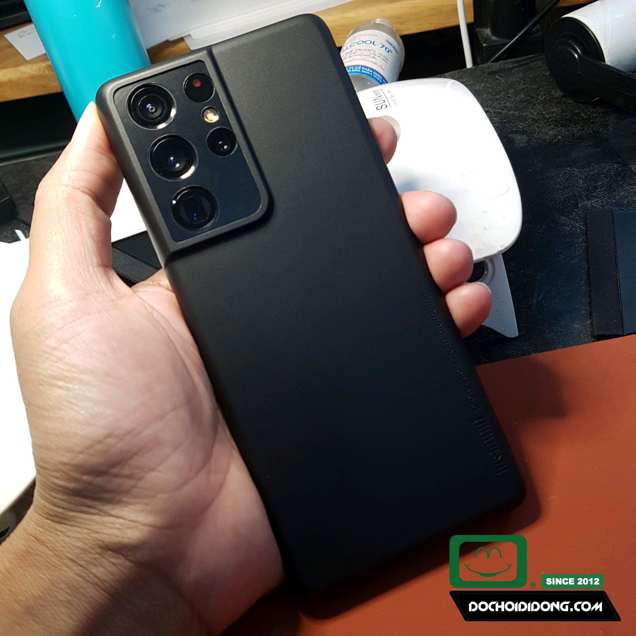 Ốp Lưng Samsung S21+ Plus Ultra Memumi Siêu Mỏng 0.3mm