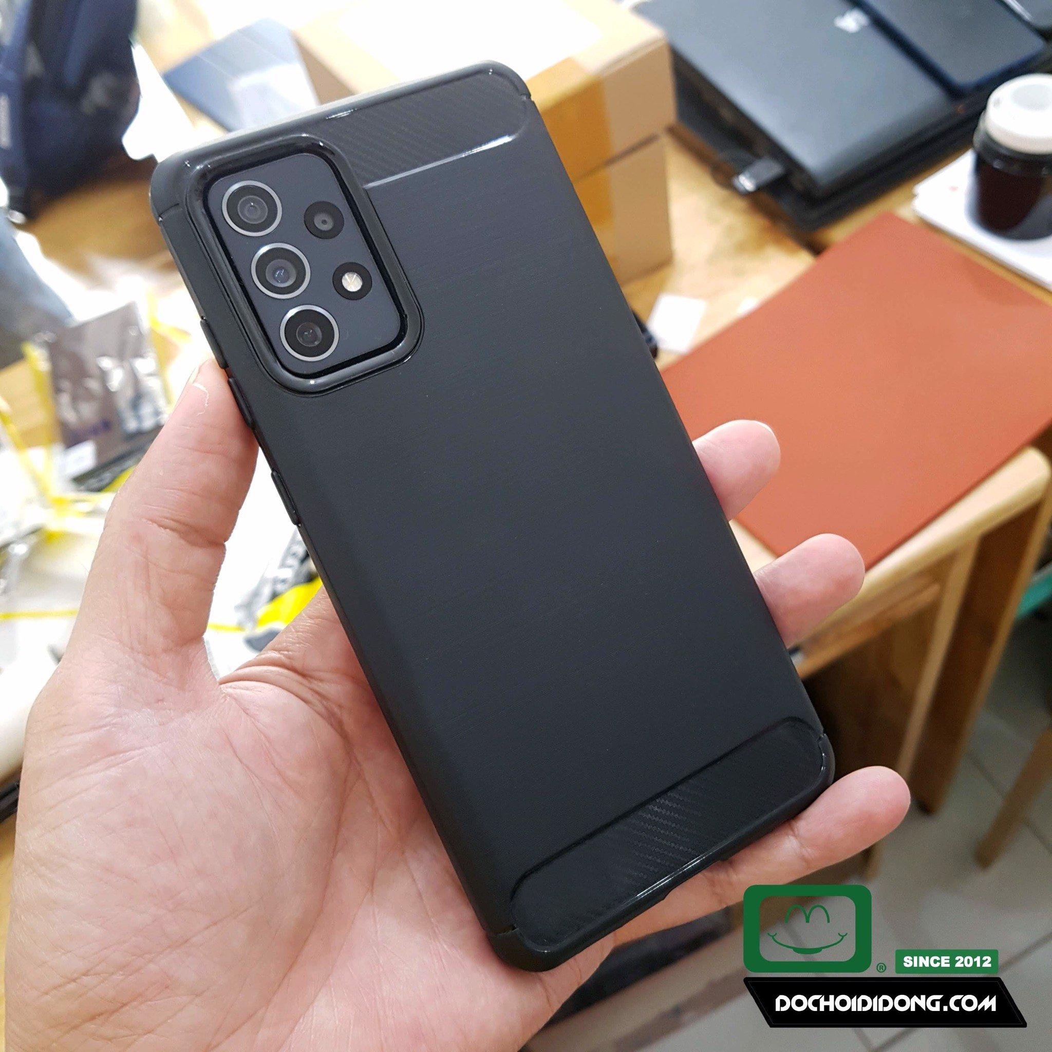 Ốp Lưng Samsung A32 A52 A72 4G/5G Likgus Dẻo Sọc Kim Loại Chống Sốc