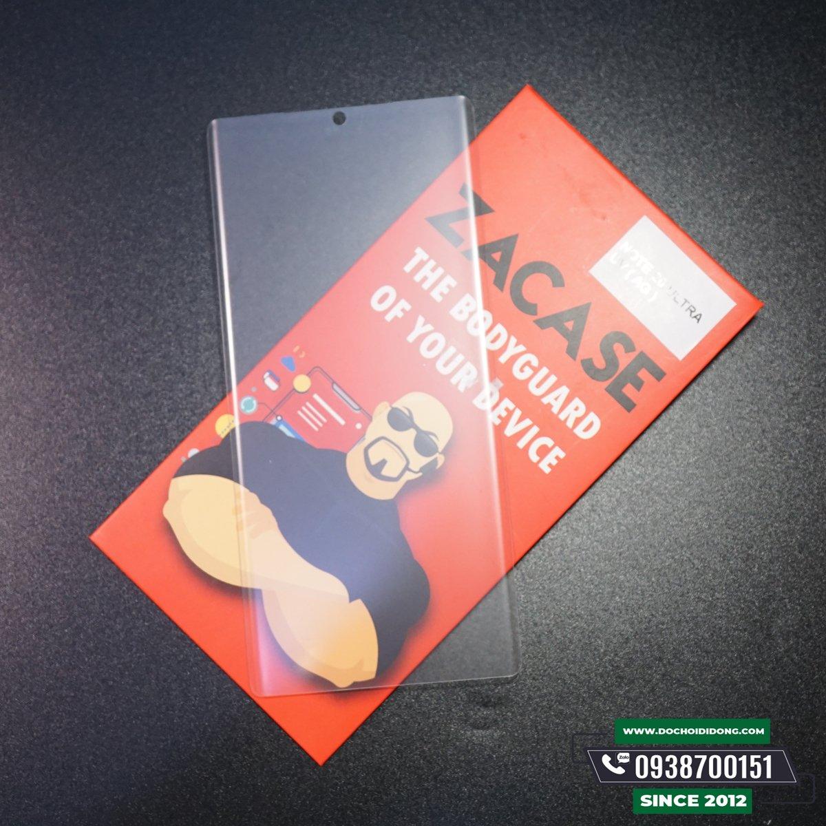 Miếng dán cường lực nhám Samsung Note 20- Note 20 UltraZacase Keo UV chống vân tay