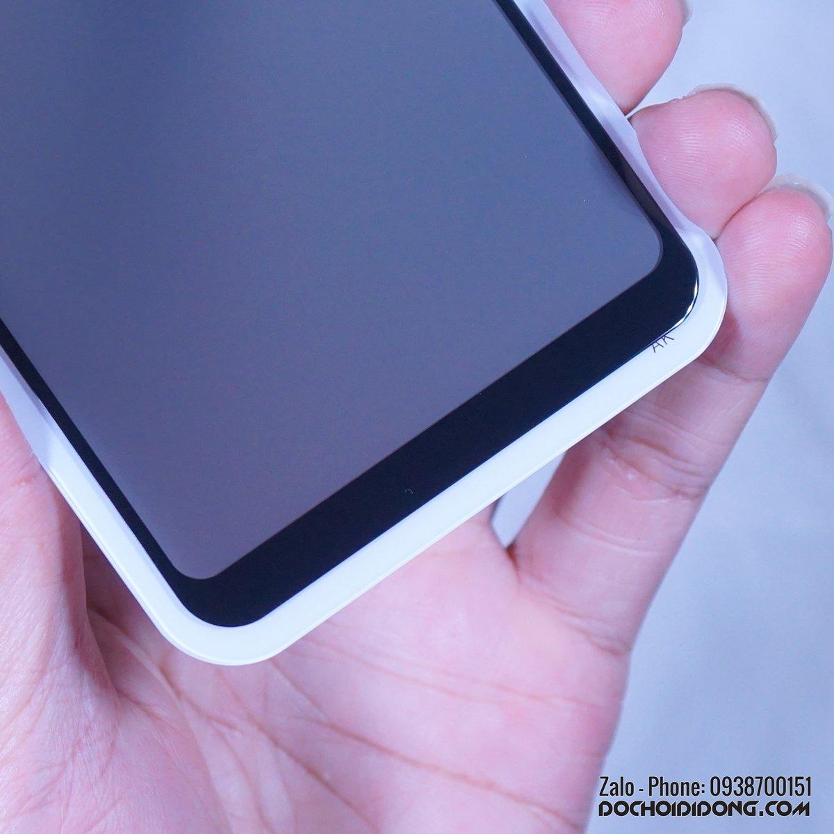 Dán cường lực chống nhìn trộm Samsung A10 Zacase Anti Spy full màn hình