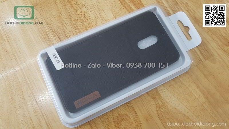 Ốp lưng Nokia 6 dẻo vân vải bố
