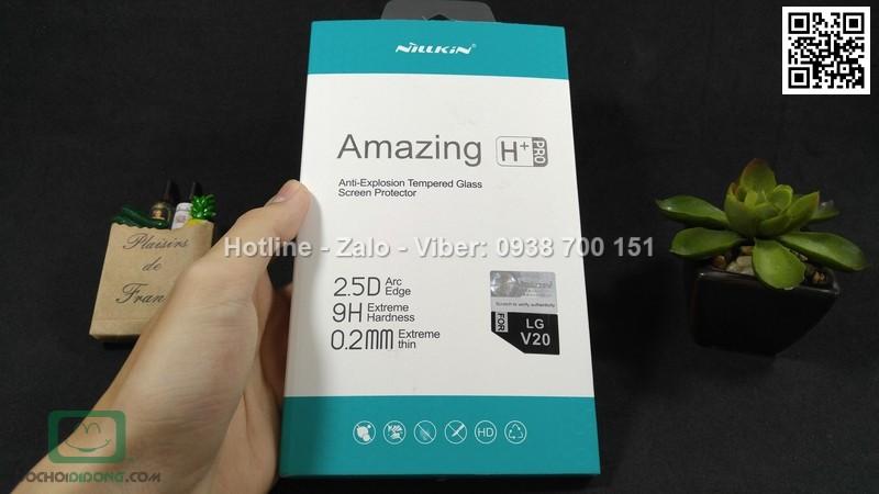Miếng dán cường lực LG V20 Amazing H Pro