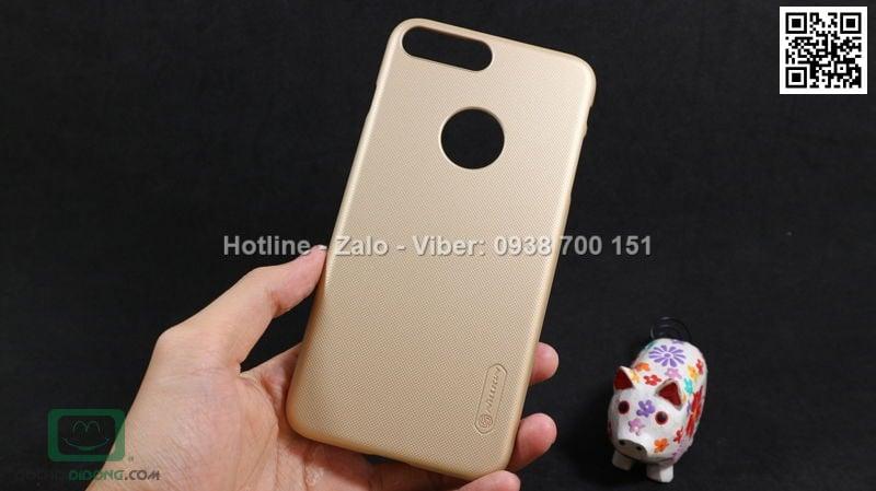 Ốp lưng iPhone 8 Plus Nillkin vân sần