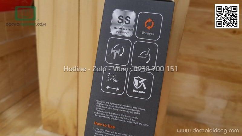 Gậy chụp ảnh Akus L01 Bluetooth 3 chân