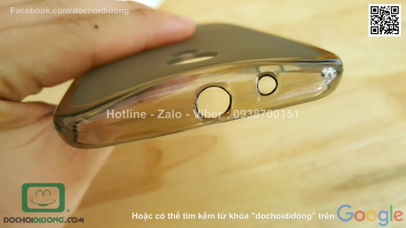 Ốp lưng Motorola Moto G Gen 2 dẻo viền trong
