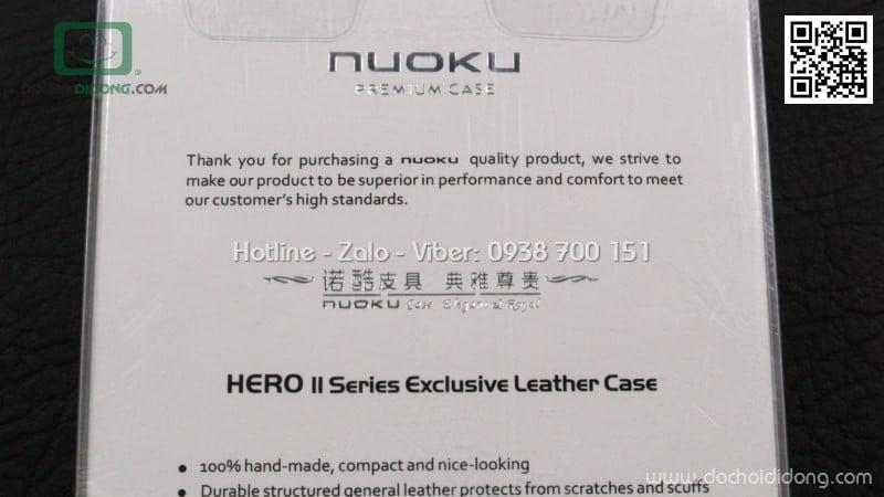Bao đeo iPhone 6 Plus Nuoku cao cấp