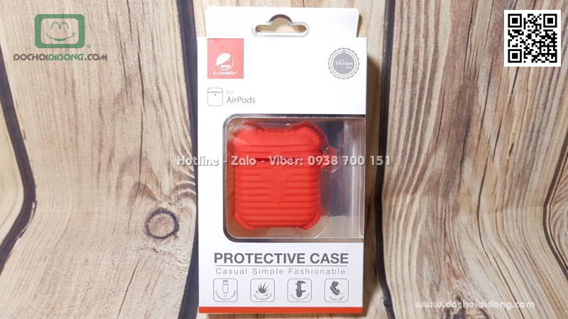 Túi đựng Airpod i-Smile Casual Simple chống sốc