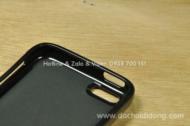 Ốp lưng iPhone 5C Coniponi Korea dẻo vân sần