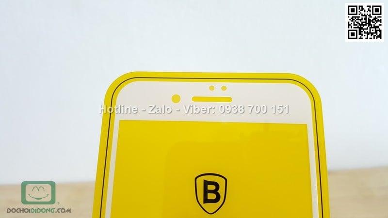 Miếng dán cường lực iPhone 7 Plus Baseus 0.2mm full màn hình
