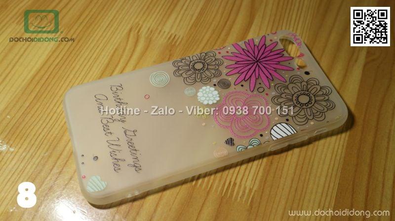 Ốp lưng iPhone 7 Plus dẻo hình nổi siêu đẹp