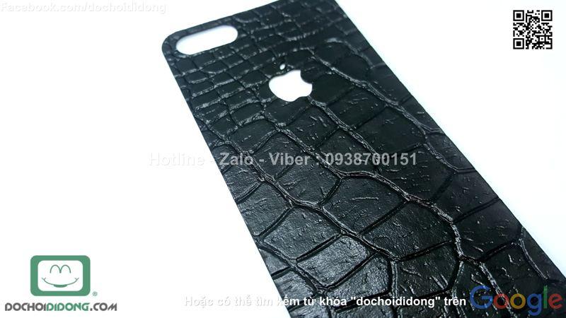 Miếng dán da mặt sau iPhone 5 5s SE iSen