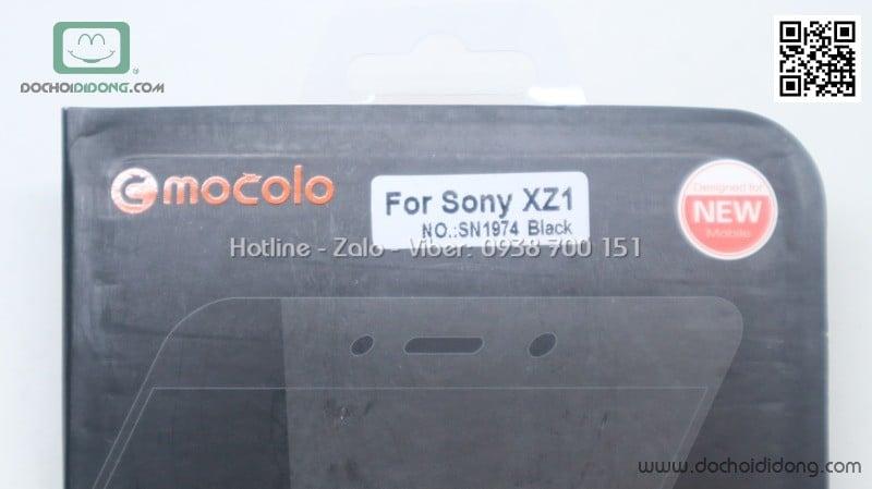 Miếng dán cường lực full màn hình Sony XZ1 KYK chính hãng