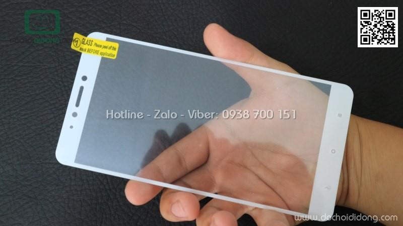 Miếng dán cường lực full màn hình Xiaomi Mi Max 2 9H