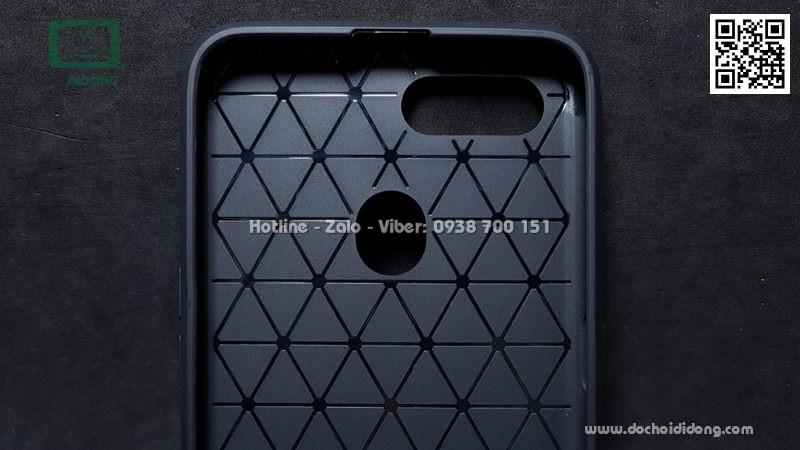 Ốp lưng Oppo F9 Likgus chống sốc vân kim loại