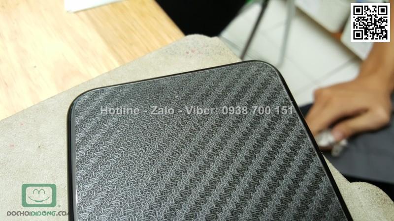 Miếng dán mặt sau iPhone 8 Plus Carbon