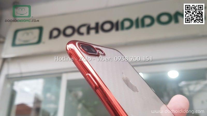 Ốp lưng iPhone 7 8 Plus Benks Magic Glitz dẻo trong viền màu
