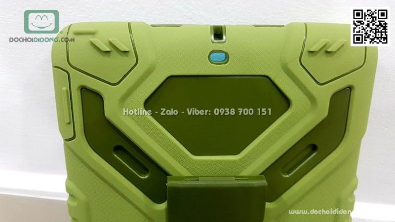 Ốp lưng chống sốc iPad 9.7 2017 Pepkoo có chống lưng xoay 360