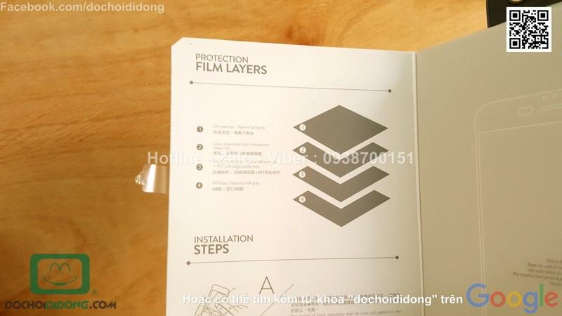 Miếng dán màn hình iPhone 8 Plus Baseus full màn hình 9H