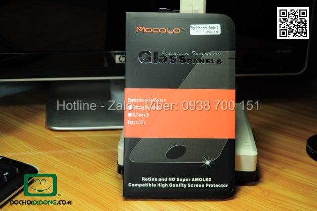 Miếng dán cường lực Xiaomi Hongmi Note 2 Mocolo 9H
